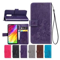 Wallet Leather Case For LG Q9 Q6 G8 G7 ThinQ  G6 V40 Back Co