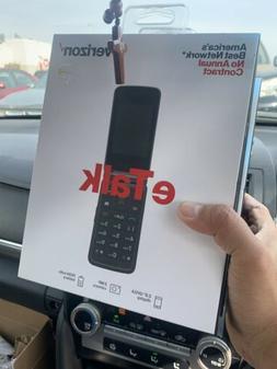 Verizon Wireless Prepaid eTalk Flip Phone Gray 1.1 GHz Quad-