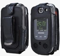 Verizon Wireless Samsung U660 - Convoy 2 Leather Case with R