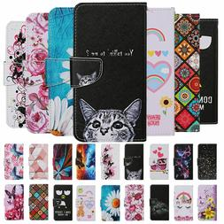 For Xiaomi Redmi Note 9 8T 8 7 Case Painted Wallet Flip Card