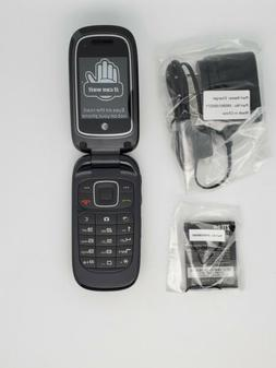 ZTE Z223 AT&T GoPhone - Cell Phone With Camera - Black Color