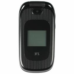 New ZTE Z223  Black AT&T Unlocked Cellular GSM 3G Basic Flip