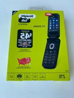 ZTE Z233VL 4G LTE Straight Talk Prepaid Phone NEW