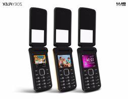BLU Zoey Flex Z130 Factory Unlocked GSM Phone FM Radio Dual