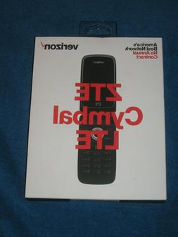 ZTE Cymbal 4G LTE speed Verizon Prepaid Cell Phone - Silver