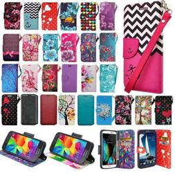 For ZTE ZMAX Z970 Cell Phone Case Hybrid PU Leather Wallet P